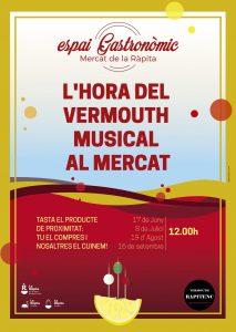 L'Hora del Vermut Musical a La Ràpita @ Espai Gastronòmic del mercat municipal