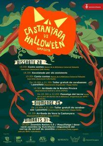 Castanyada vs Halloween @Amposta