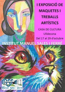 Exposició de maquetes i treballs artístics a @Ulldecona @ Casa de Cultura d'Ulldecona