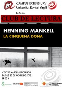 Club de Lectura a la Sénia: La cinquena dona @ Centre Marcel·lí Domingo