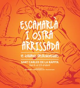 VI Jornades de l'Escamarlà i l'Ostra Arrissada a La Ràpita @ Restaurants col·laboradors