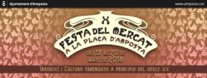X Festa del Mercat @ Casc Antic Amposta
