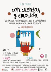 Va de cuentos, con cuentos y emoción @ C/ Bolivia 47 1er C