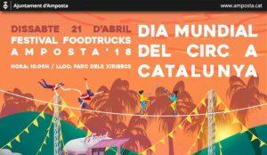 Festival Food Trucks Amposta i Dia Mundial del Circ @ Parc dels Xiribecs