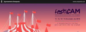 V FesticAM - Festival Internacional de Teatre i Circ d'Amposta @ Plaça Ramon Berenguer IV