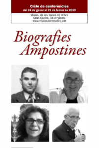 Biografies Ampostines @ Museu de les Terres de l'Ebre