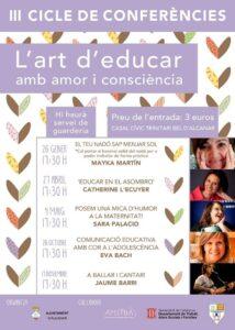 Conferència «Comunicació educativa amb cor a l'adolescència» del «Cicle l'art d'educar» a Alcanar @ Casal Cívic Trinitari Bel