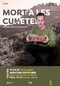 Tardes de teatre amb «Mort a les cunetes» a La Ràpita @ Auditori Sixto Mir