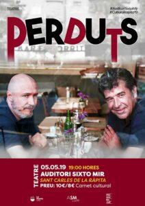 Tardes de teatre amb «Perduts» a La Ràpita @ Auditori Sixto Mir