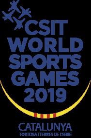 CSIT World Sports Games 2019 @ Tortosa, Amposta, Gandesa, Móra d'Ebre, La Ràpita i Deltebre