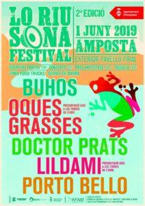 Lo Riu Sona Festival a Amposta @ Pavelló Firal 1 d'Octubre