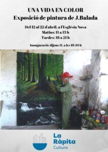 Exposició «Una vida en color» a La Ràpita @ Església Nova