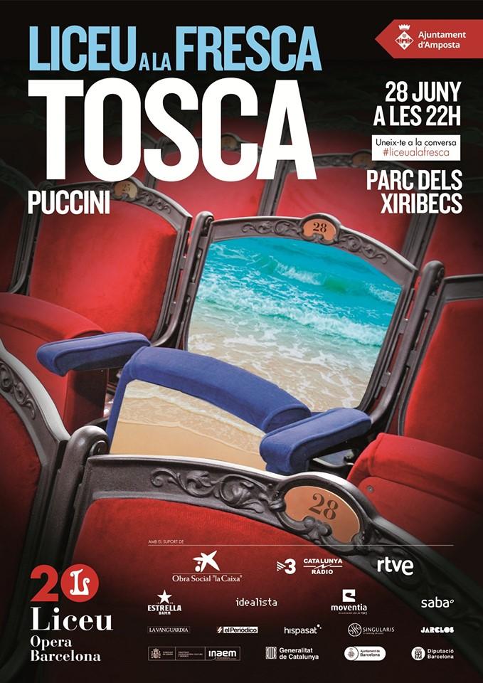 Liceu a la fresca amb «Tosca» de Puccini a Amposta @ Parc del Xiribecs