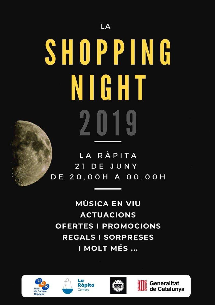 Shopping Night a La Ràpita @ Diversos carrers