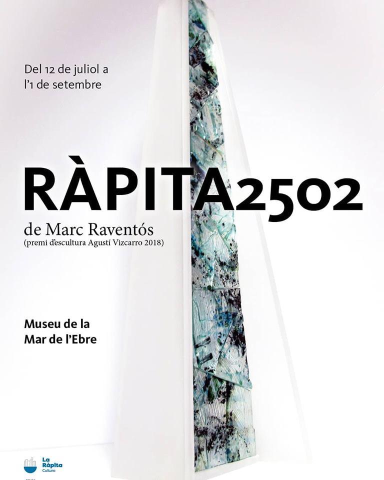 Exposició Ràpita 2502 - Premi d'escultura Agustí Vizcarro @ Museu de la Mar de l'Ebre
