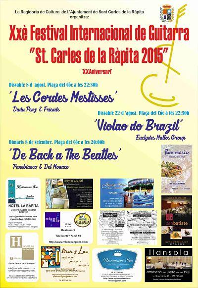 XX Festival Internacional de Guitarra a La Ràpita @ Plaça del Cóc