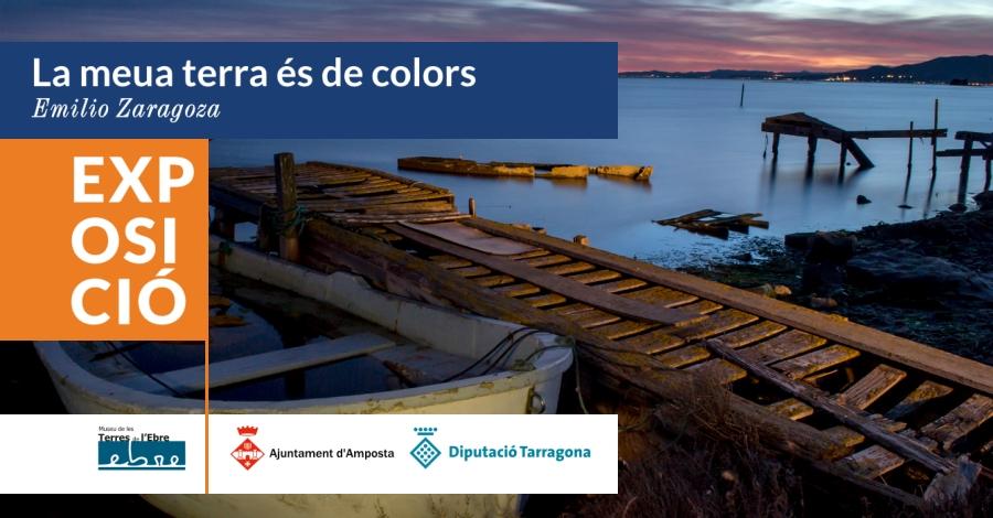 Exposició «La meua terra és de colors» a Sant Jaume d'Enveja @ Centre d'interpretació de les barraques