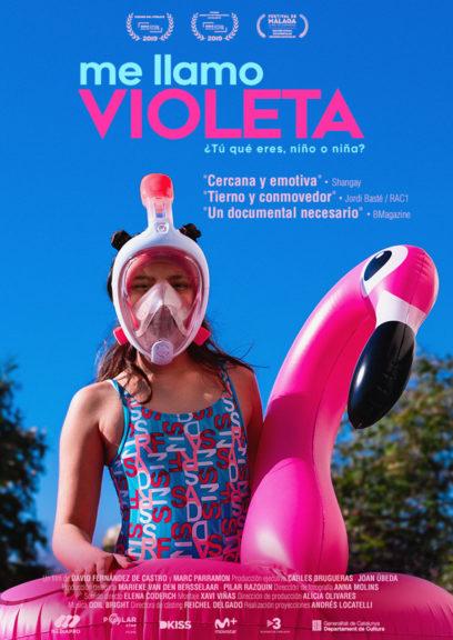 Projecció de «Me llamo Violeta» a La Ràpita @ Auditori Sixto Mir