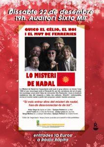 Espectacle «Lo misteri de Nadal» de Quico el Célio, el Noi i el Mut de Ferreries a La Ràpita @ Auditori Sixto Mir