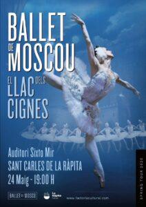 «El llac dels cignes» del Ballet de Moscou a La Ràpita @ Auditori Sixto Mir