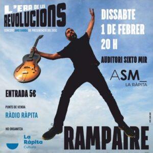 Concert de Rampaire amb «L'era de les revolucions» a La Ràpita @ Auditori Sixto Mir