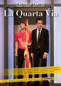 Tardes de teatre amb «La quarta via» a La Ràpita @ Auditori Sixto Mir