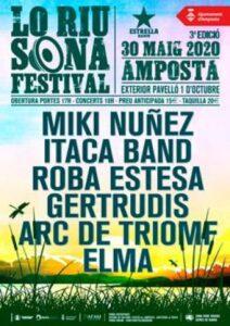 Lo Riu Sona Festival a Amposta @ Paveló 1 d'Octubre