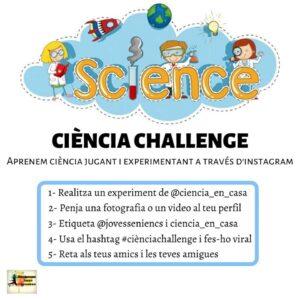 Ciència challenge a la Sénia