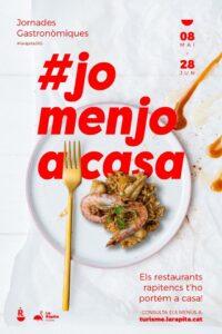 Jornades gastronòmiques #JoMenjoACasa a la Ràpita