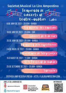 MÚSICA - Temporada de Concerts @ Teatre Auditori Lira Ampostina