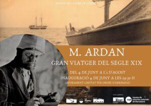 Exposició «M. Ardan, gran viatger del segle XIX» a La Ràpita @ Museu de la Mar de l'Ebre