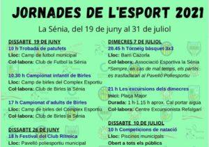 Jornades de l'Esport La Sènia 2021