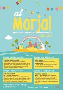Cicle d'espectacles a la platja Marjal @ Platja El Marjal