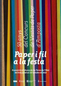 Exposició de Vestits de Paper @ Museu de les Terres de l'Ebre