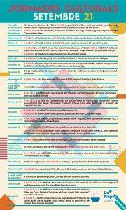 Jornades Culturals Setembre 2021 La Ràpita @ La Ràpita