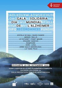 Gala solidària del Dia Mundial de l'Alzheimer @ Amposta