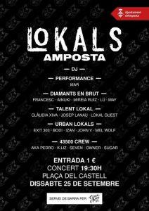 CONCERTS - LoKALS @ Amposta